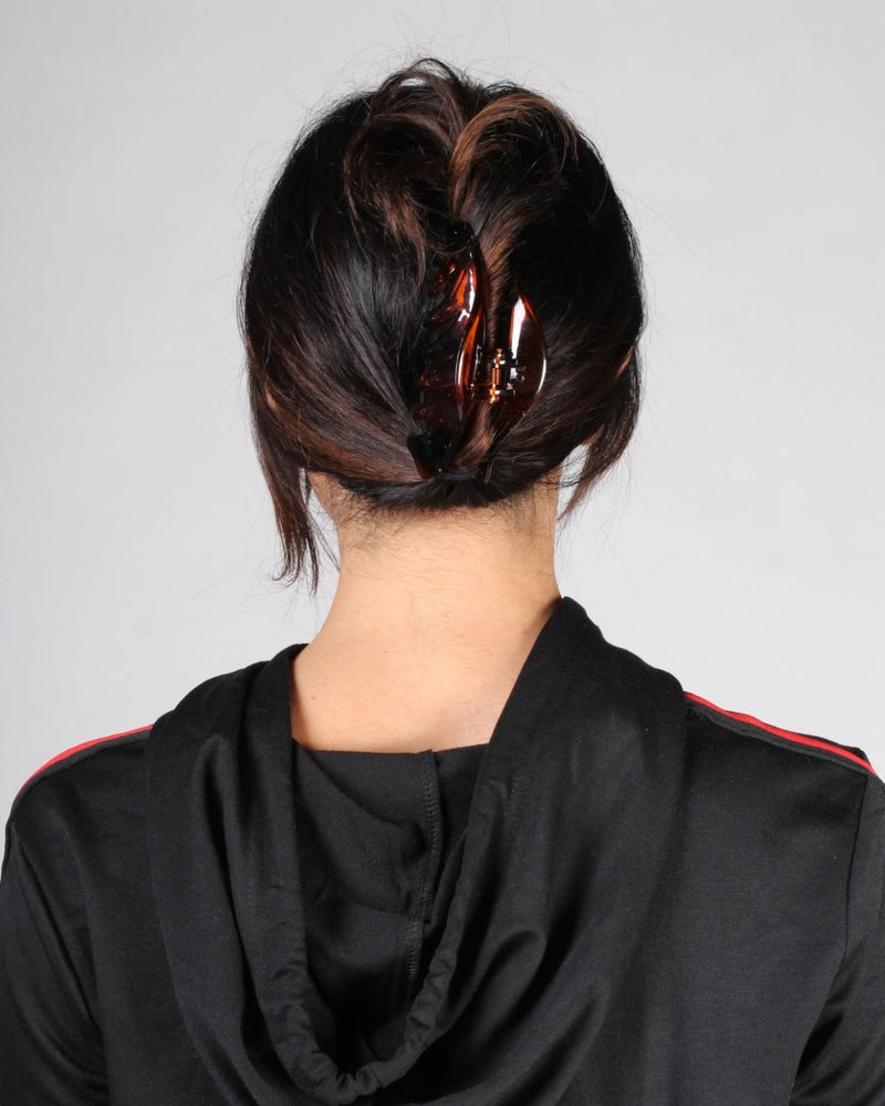 Ambition Hair Clip One / Brown Accessory