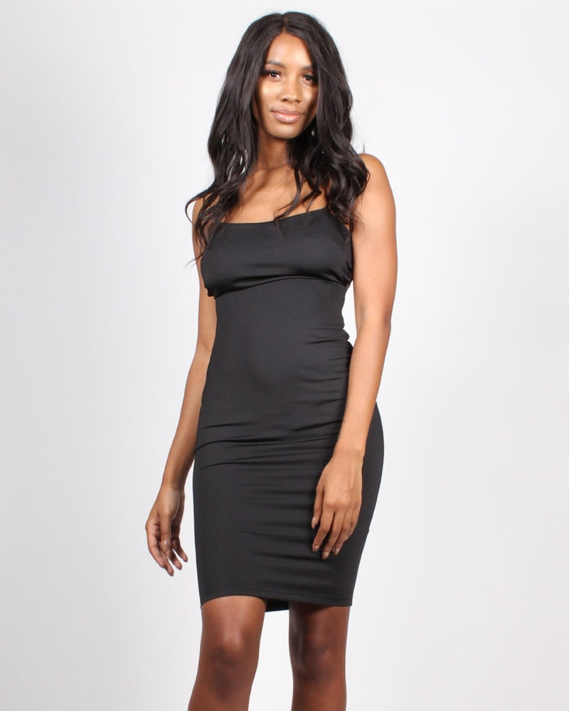 Aspire To Inspire Bodycon Dress S / Black Dresses