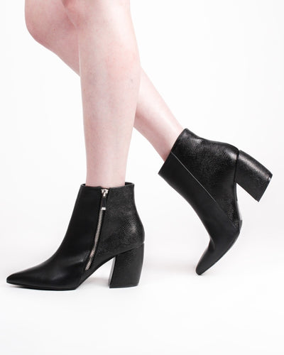 Fashion Q Shop Q Austin Booties (Black) Milkway-22