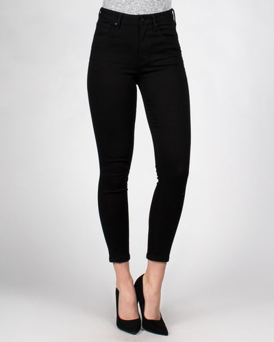 Babys Got Back Skinny Jeans 0 / Black Bottoms