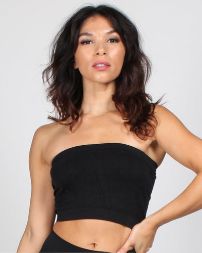 Bare Kiss Bandeau Bra One / Black Intimates