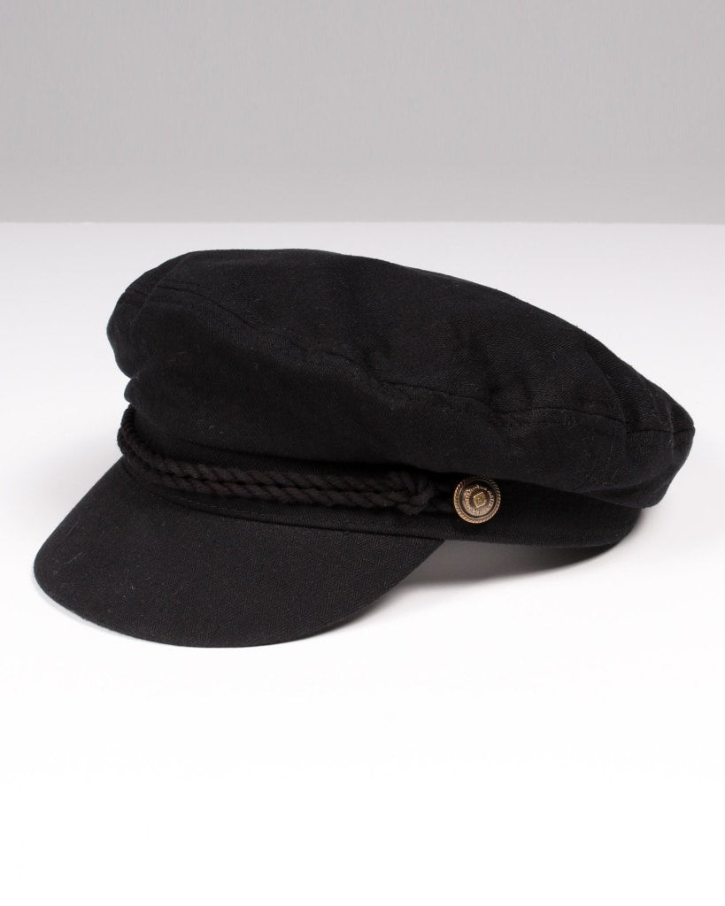 Believe Newsboy Hat One / Black