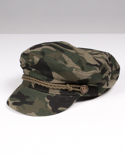 Believe Newsboy Hat One / Camo