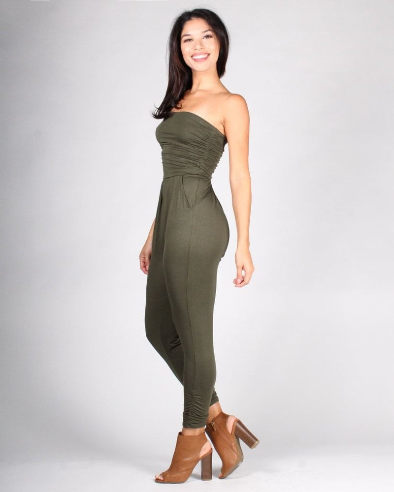 Best Compliments Jumpsuit Army Green / S