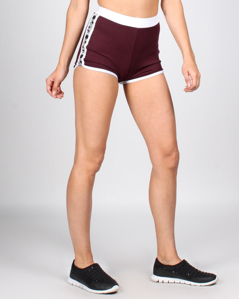 Best Of My Love Shorts S / Maroon