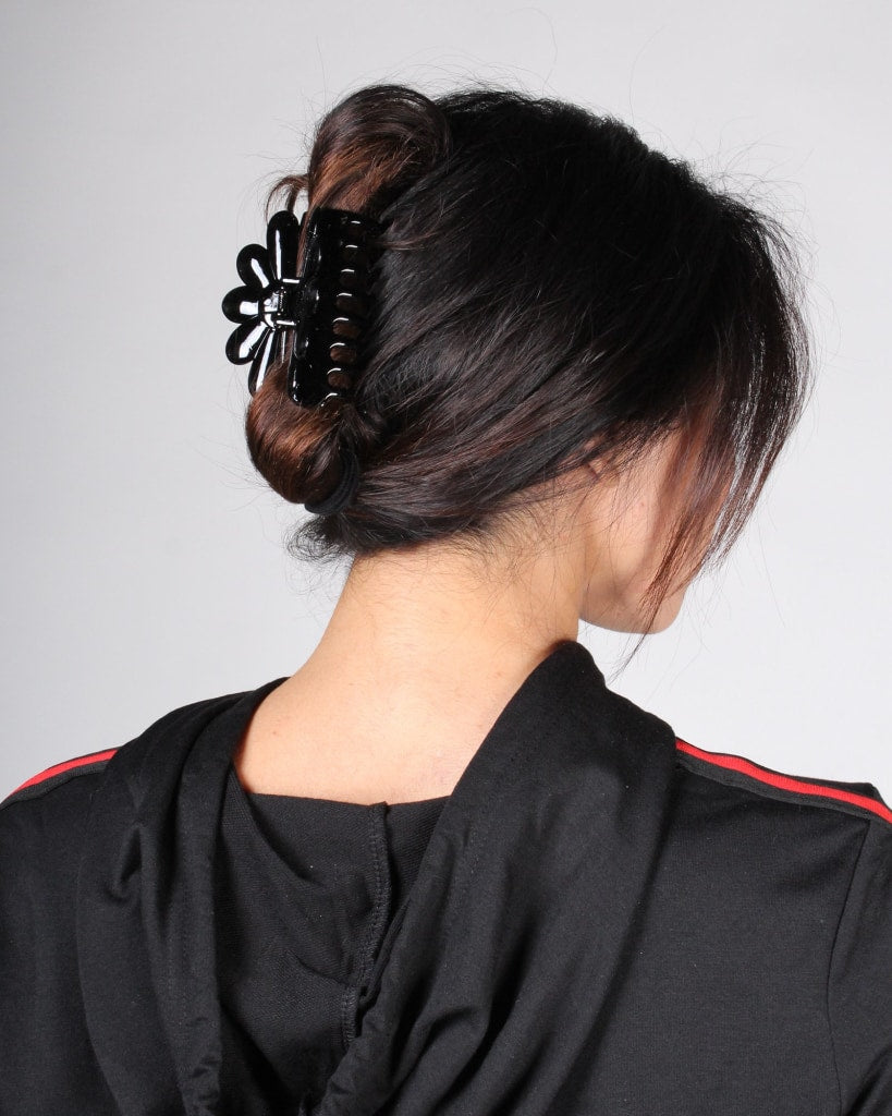 Bloom Hair Clip One / Black Accessory