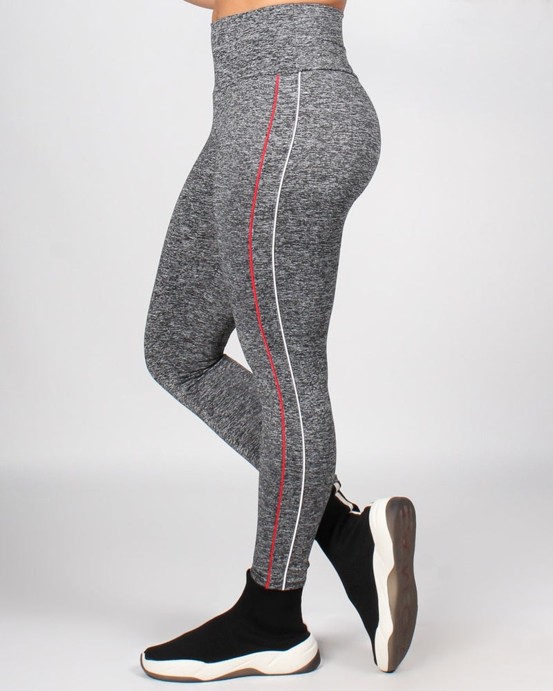 Breathe In Breath Out Yoga Pants S / Grey