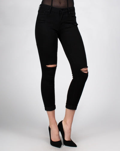 Butt Im The Perfect Fit Skinny Jeans 0 / Black Bottoms