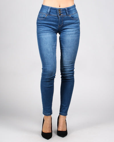 Butt-Phasis Skinny Jeans 0 / Medium Bottoms