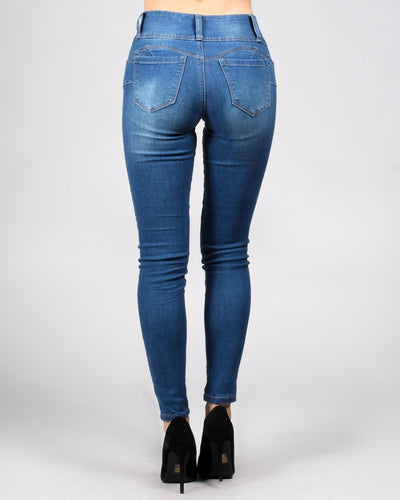 Butt-Phasis Skinny Jeans Bottoms