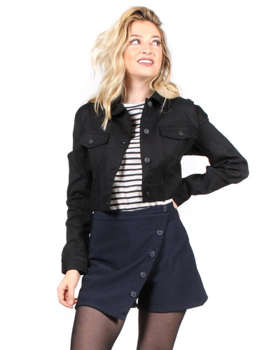 Can You Rock It Like This Jacket S / Black Outerwear
