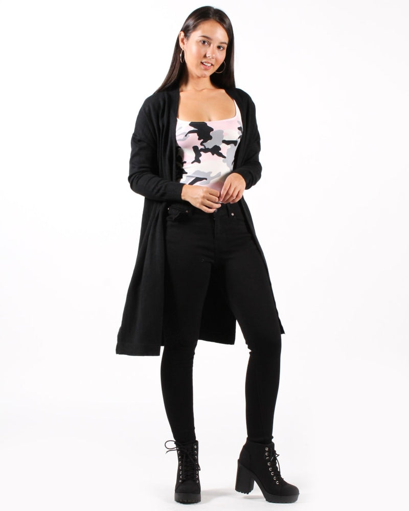 Cant Stop Wont Cardigan S/m / Black