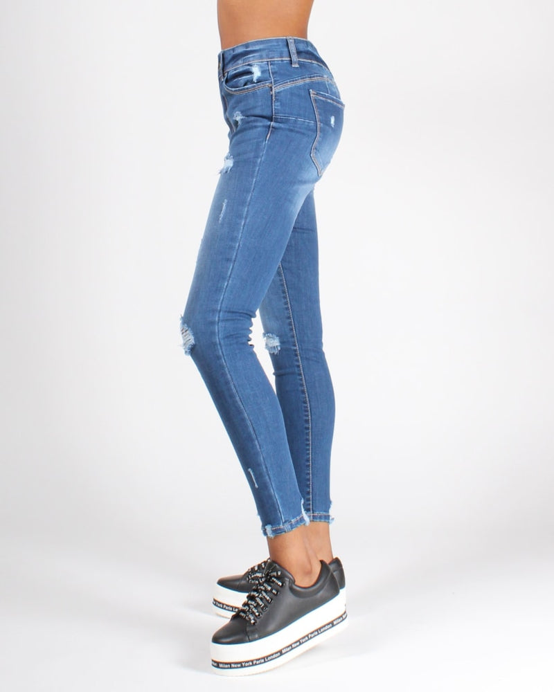 Chase Adventure High Rise Jeans Medium / 0 Bottoms