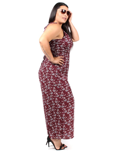Cherish Me Floral Plus Jumpsuit