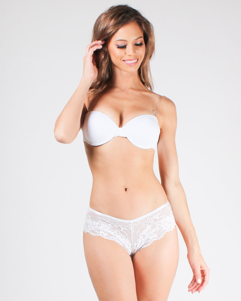Crazy Little Thing Called Love Lace Panties White / S Intimates
