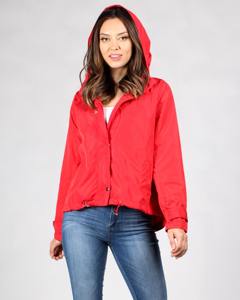 Create Your Sunshine Windbreaker Jacket S / Red Outerwear