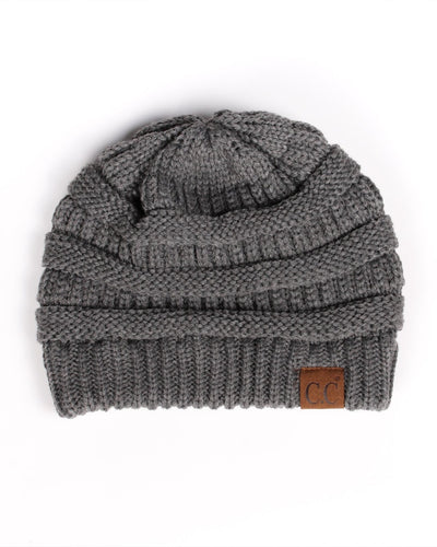 Fashion Q Shop Q Daydream Beanie (Dark Grey) HAT-20A