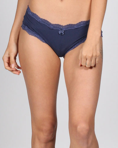 Dont Touch This Panties S / Navy Intimates