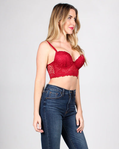 Fashion Q Shop Q Dream On Lace Bustier Intimates 70204