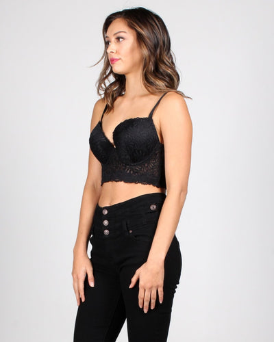 Dream On Lace Bustier Intimates