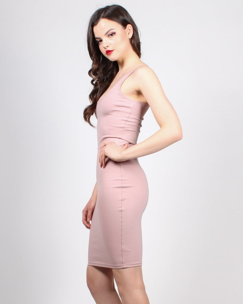 Endless Possibilities Bodycon Dress S / Dusty Mauve Dresses