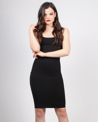 Endless Possibilities Bodycon Dress S / Black Dresses