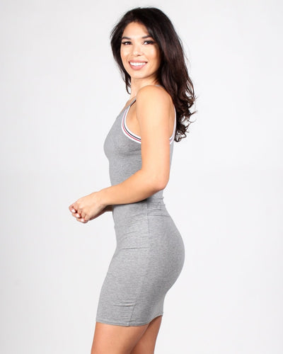 Envy Me Bodycon Dress S / Dark Heather Grey Dresses