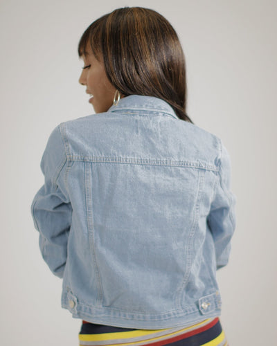 Everglow Denim Jacket Outerwear
