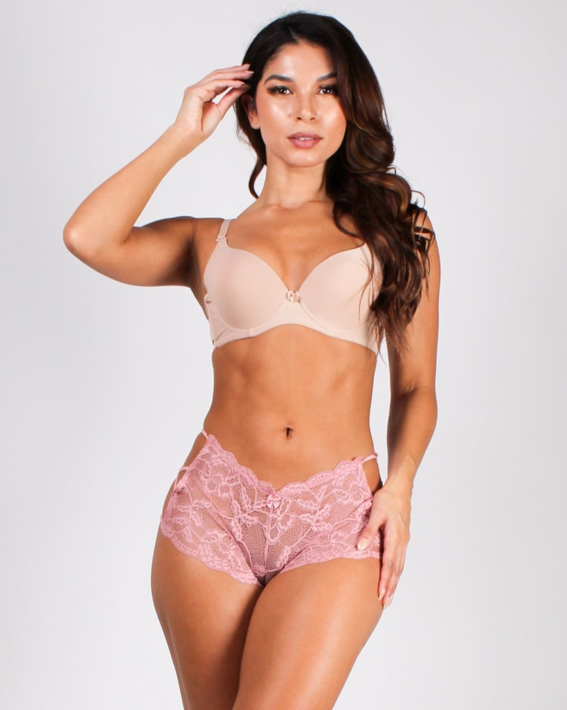 Feel The Light And Shine Bright Lace Bikini Intimates