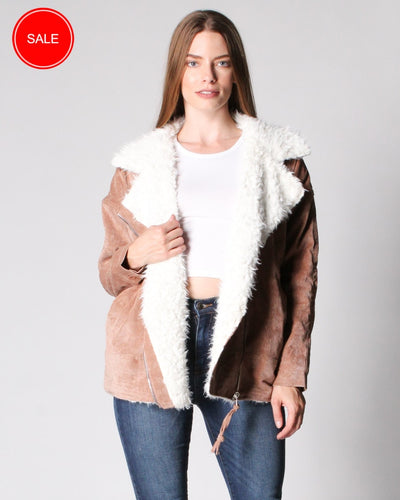 Fur My Love Corduroy Jacket S / Camel