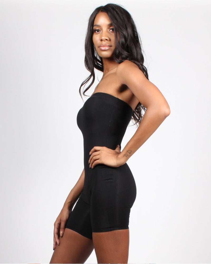 Get It Girl Romper S / Black