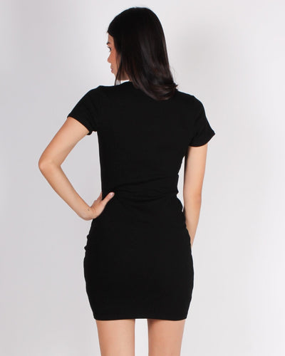 Get Your Halo Dirty Bodycon Dress (Black) Dresses