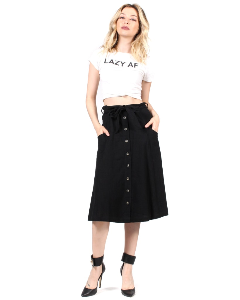 Good Day Sunshine Skirt S / Black Bottoms