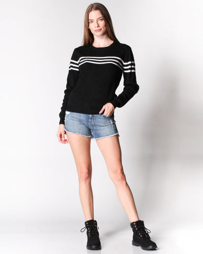 Got The Case Of Stripes Sweater Tops
