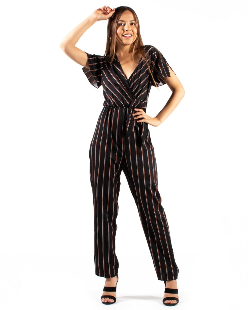 Got Ya Babe Jumpsuit S / Black