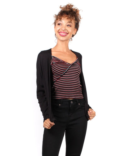 Great Expectations Cardigan S / Black