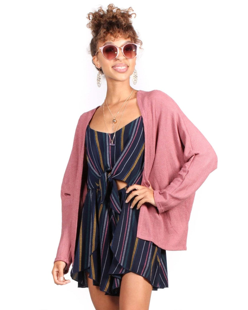 Great Expectations Cardigan S / Mauve