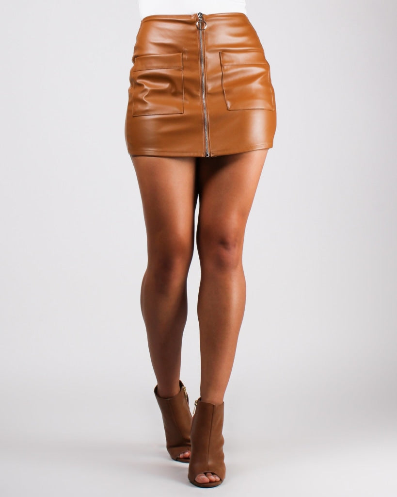Haute Child In The City Skort Camel / S Bottoms