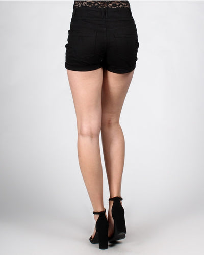 High Waisted Ruby Shorts Bottoms
