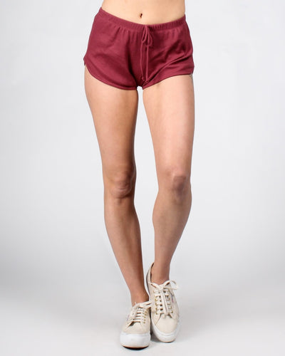 Hit Me With Your Best Shorts S / Dark Mauve Bottoms