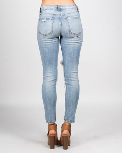 Hold Me Closer Low Rise Skinny Jeans Bottoms