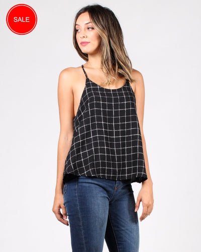 Hooked On A Feeling Trapeze Top S / Black Tops