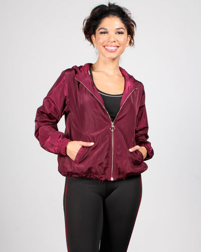 Hooked On You Jacket S / Burgundy