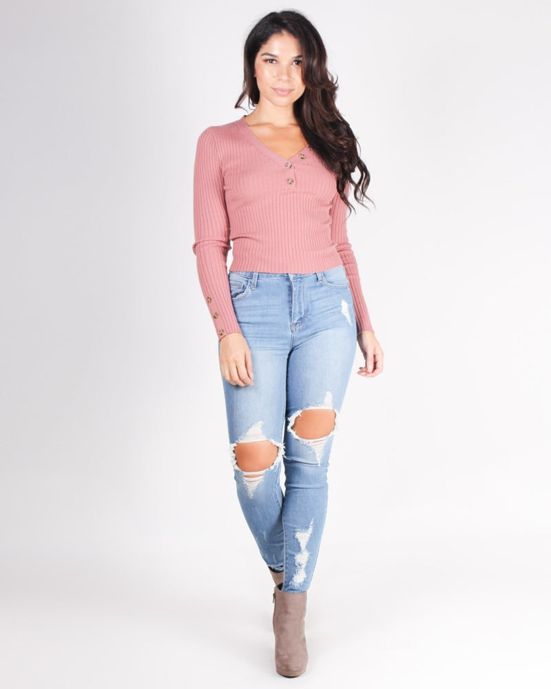 In It For The Long Run Skinny Jeans (Medium) Medium / 0 Bottoms