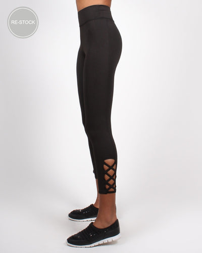 Inhale Exhale Yoga Pants S / Black Bottoms