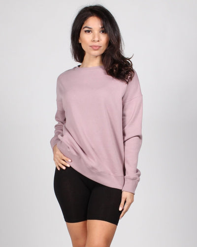 Its A Good Day Sweater S / Dusty Mauve Tops