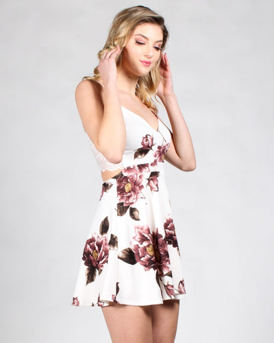 Its Going To Be Love Floral Dress Dresses