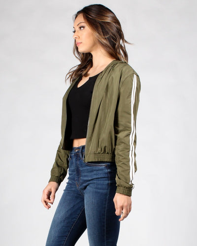 Jumpin On A Jet Windbreaker Jacket Outerwear