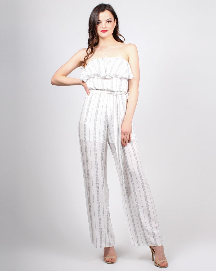 07fdbab076 Karmic Connection Jumpsuit S   White