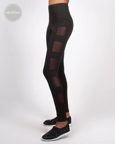 Keep Going Yoga Pants S / Black Bottoms